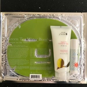 100% Pure Cleanser & Mask & Sunscreen